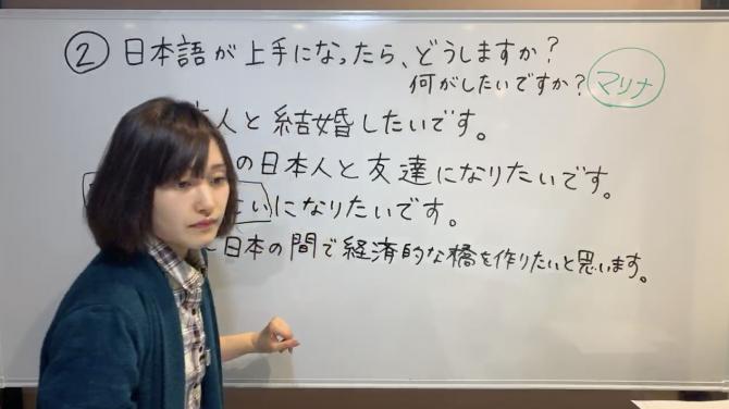指示する, Survival Japanese for Intermediate(N3) 3-2