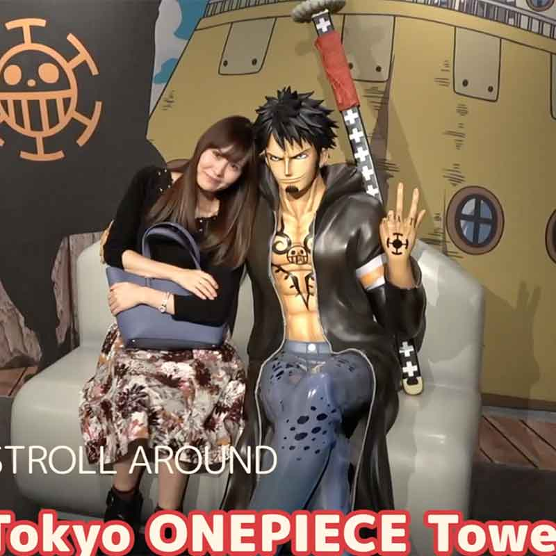 [Easy Japanese]One Piece Tower in Tokyo tower