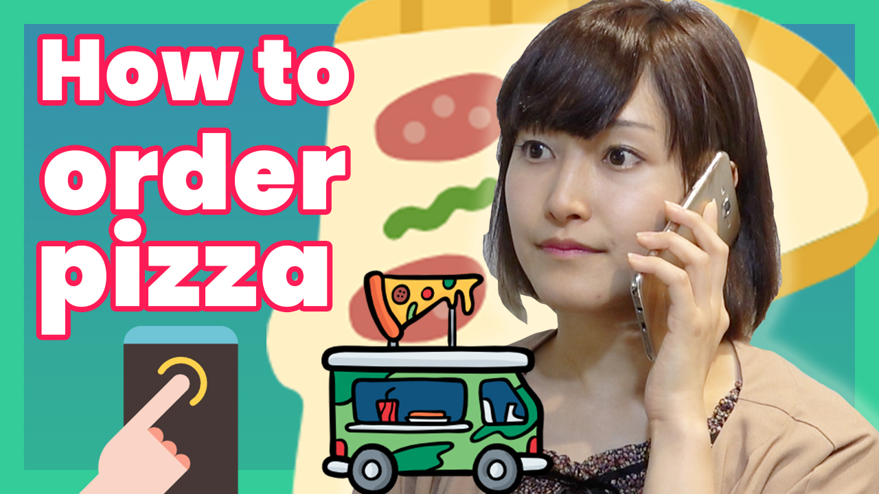 Learn Japanese - How to order pizza in Japanese | Learn Japanese online